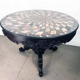 Specimen Marble-Topped Table, Grand Tour