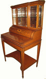 Edwardian Satinwood  Bonheur du Jour by Edwards & Roberts