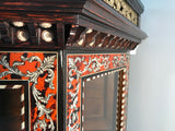 Pair of French Boulle Side Cabinets