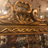 Regence Large Carved Giltwood Mirror