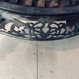 Georgian Polished Steel Firegrate, circa 1800