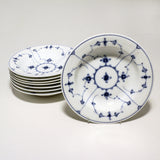 "Royal Copenhagen Dinner Service for Eight in the ""Blue Fluted"" Pattern"