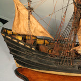 """Halve Maen"", Model of Henry Hudson's Ship"
