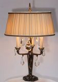 Pair of Art Deco Girandoles Now Mounted as Lamps