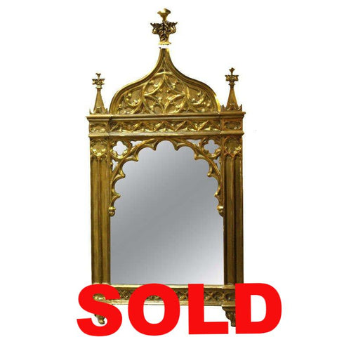 Gothic Revival Mirror