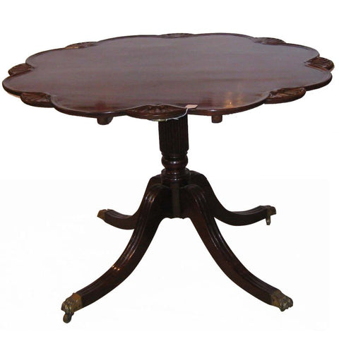 Regency Mahogany Tilt Top Supper Table