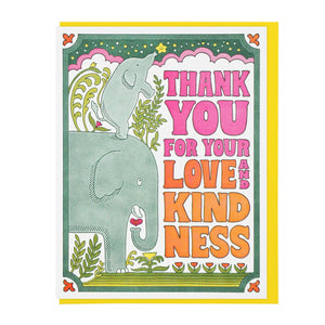 Lucky Horse Press - Thank You For Your Love and Kindness