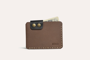 Kiko Leather - Brown Card Wallet