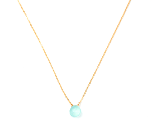 May Martin - Mint Green Gemstone Necklace
