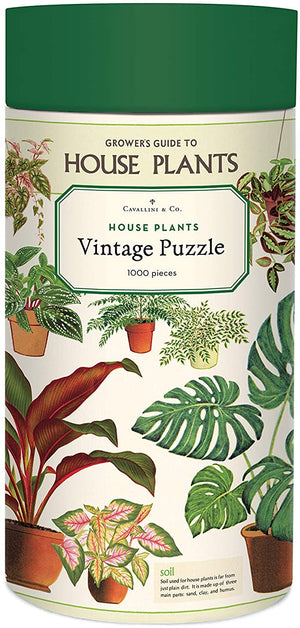Cavallini Co - House Plants Puzzle