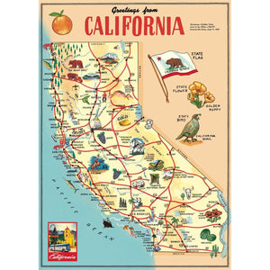 Greetings from California: 20x28 Poster