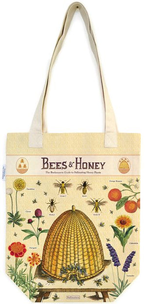 Cavallini Co. - Bees & Honey Tote Bag