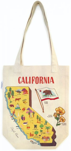 Cavallini & Co. - Vintage California Tote Bag