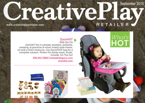 "ZoomKIT Makes Creative Play Retailer Magazine's ""What's Hot"" List"