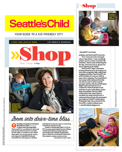 ZoomKIT featured in Seattle's Child!