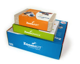 Turquoise ZoomKIT Portable Table & Activity Inserts Bundle