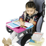 Fuchsia ZoomKIT Portable Table & Activity Inserts Bundle