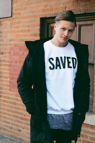Mens Saved Sweatshirt