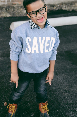 Youth Saved Sweatshirt