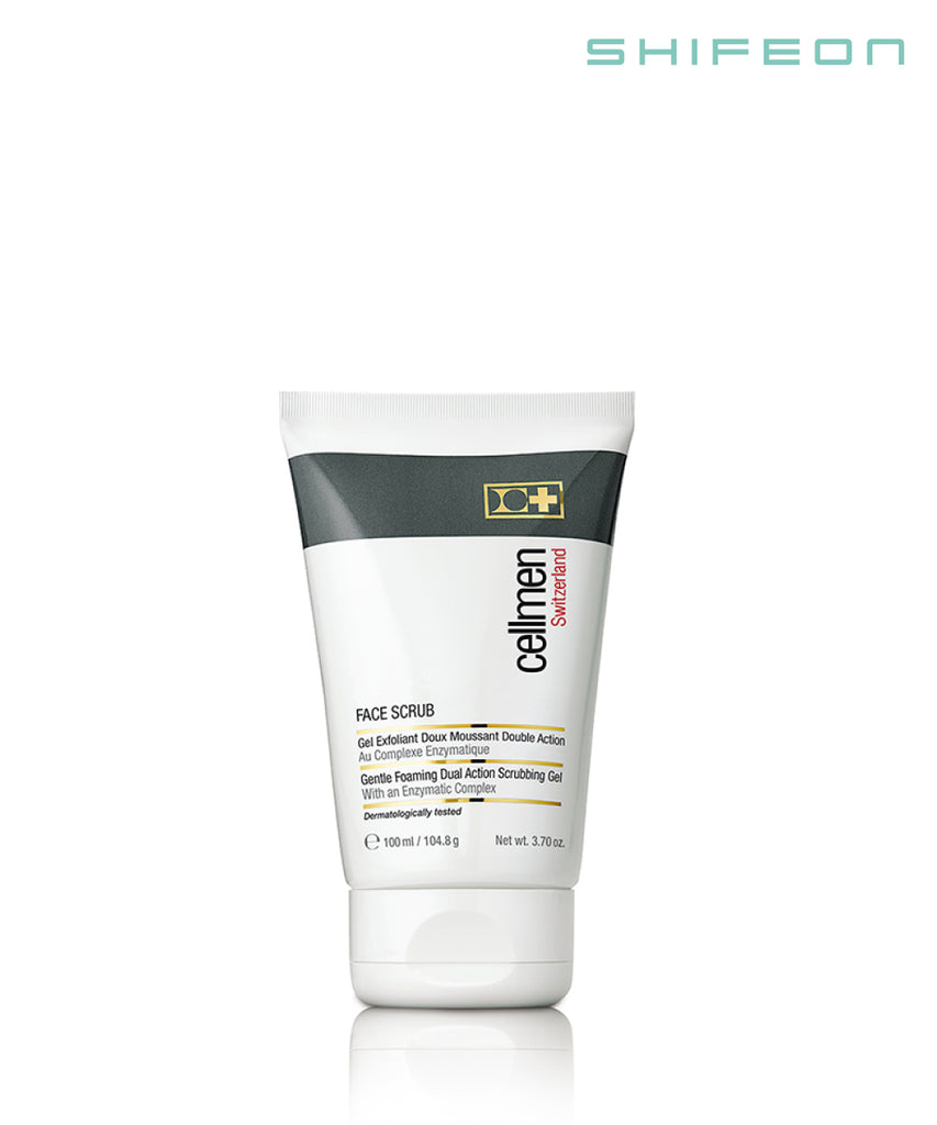 Face Scrub Gentle Foaming Dual Action Scrubbing Gel