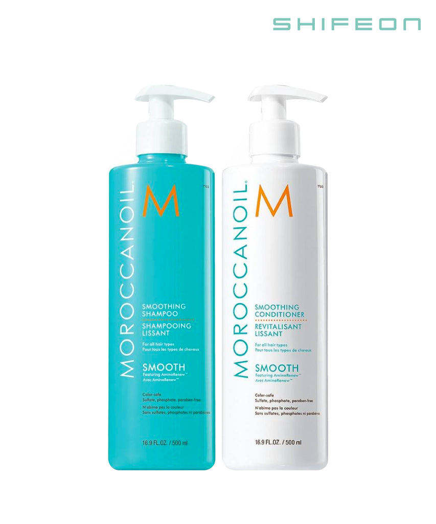 Smooth Shampoo and Conditioner 500ml Duo