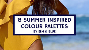 8 summer inspired colour palettes mood board decorating decor pain ideas inspo choice fun beach sun sand dress swim bikini