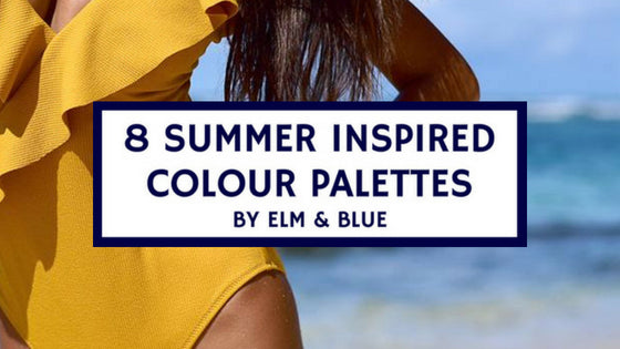 8 Summer Inspired Colour Palettes