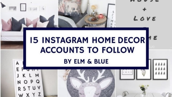 15 Instagram Home Decor Accounts to Follow