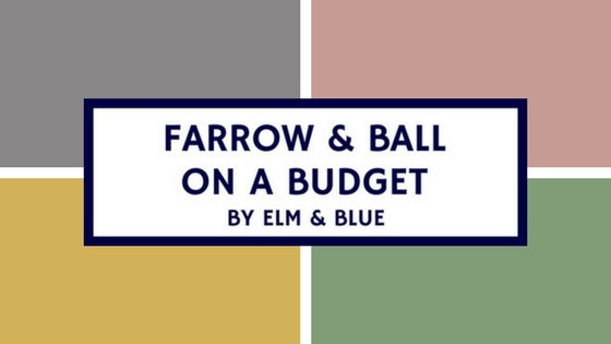 Farrow & Ball on a Budget
