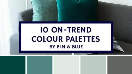 10 On-Trend Colour Palettes
