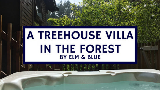 deer park forest holidays Cornwall a treehouse villa heart decor inspiration ideas summer inspo