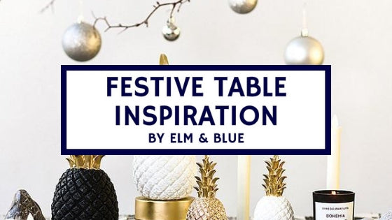 festive table decorations inspiration ideas decor Christmas thanks giving feast dinner celebrations family friends fun gifts pineapple gold ornament xmas lights atmosphere food