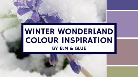 winter wonderland colour inspiration inspo ideas palette design decor cool color paint decoration snow cold dreamy magic