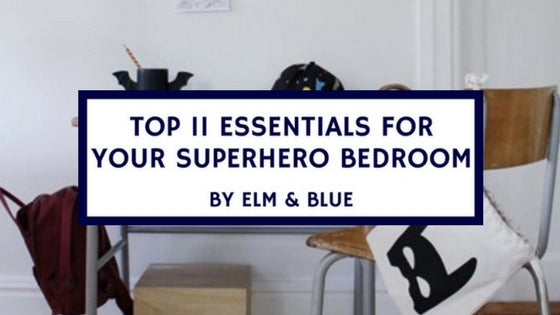 ESSENTIALS GUIDE FOR SUPERHERO BEDROOM design decor ideas inspiration