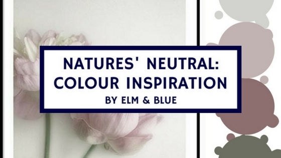 natures neutral colour inspiration palette Inso decor home redecorating ideas