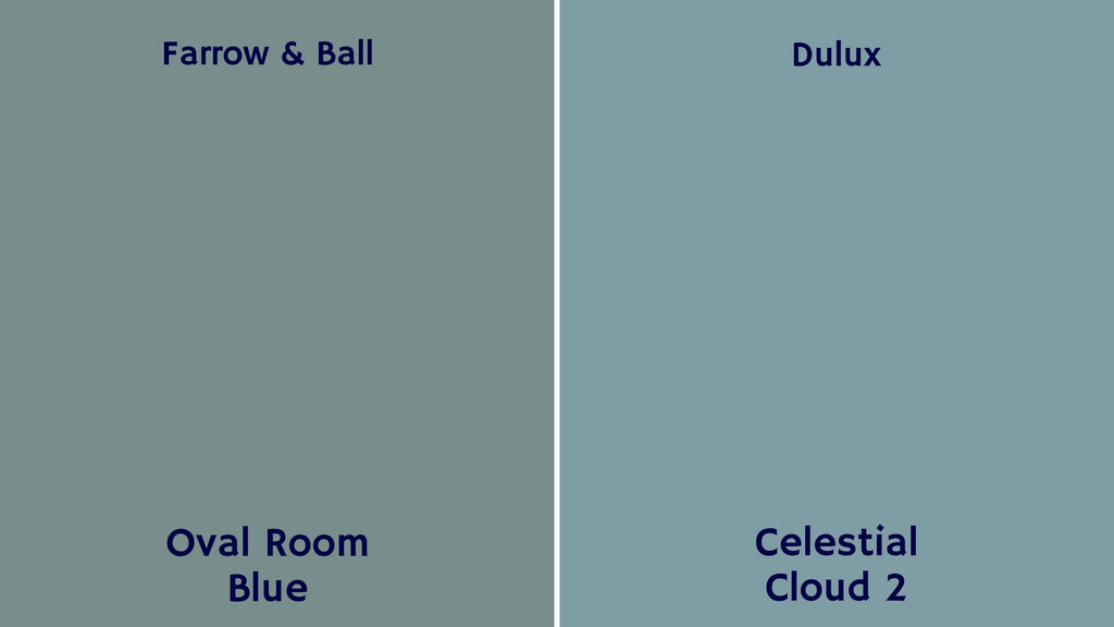 farrow & ball deluxe paint colour blues