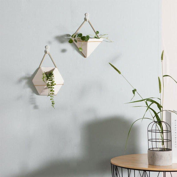 hanging plant pots elm and blue home accessories