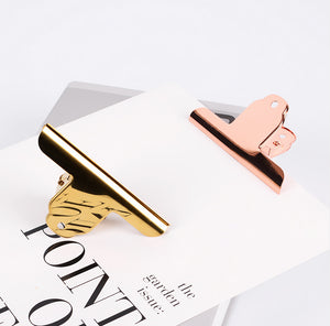 Luxury Dovetail Clip, Stationery, Nordic Home Accessories, Elm & Blue, Style Life Home