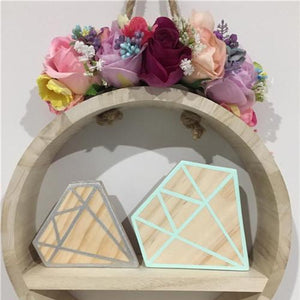 Diamond Block, Ornament, Nordic Home Accessories, Elm & Blue, Style Life Home