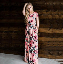 Floral Long Dress, Clothing, Nordic Home Accessories, Elm & Blue, Style Life Home