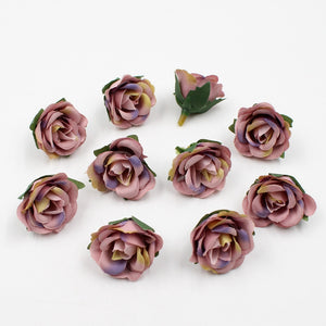 Mini Silk Rose Heads, Ornament, Nordic Home Accessories, Elm & Blue, Style Life Home