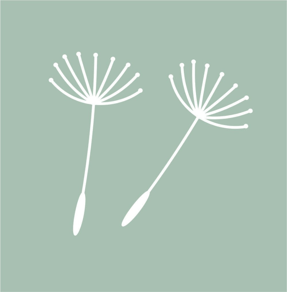 Dandelion Seeds Wall Stickers, Wall Sticker, Nordic Home Accessories, Elm & Blue, Style Life Home