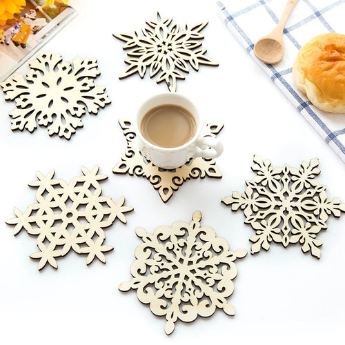 Snowflake Festive Coasters, Tableware, Nordic Home Accessories, Elm & Blue, Style Life Home