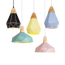 Colourful Metal Pendant Lights, Light, Nordic Home Accessories, Elm & Blue, Style Life Home