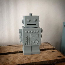 Robot Money Bank, Toy, Nordic Home Accessories, Elm & Blue, Style Life Home