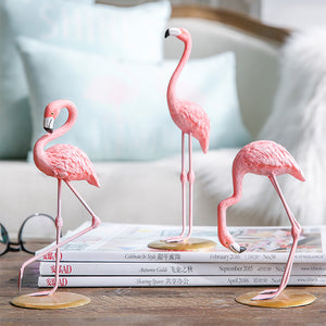 Pink Flamingo Decoration, Ornament, Nordic Home Accessories, Elm & Blue, Style Life Home