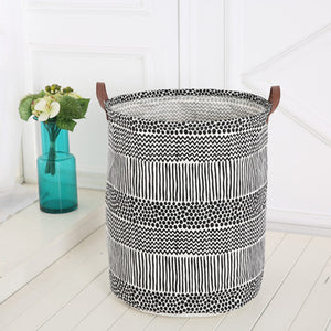 Cotton Canvas Storage Basket, Storage, Nordic Home Accessories, Elm & Blue, Style Life Home