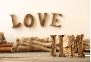 Creative Wooden Letters, Ornament, Nordic Home Accessories, Elm & Blue, Style Life Home