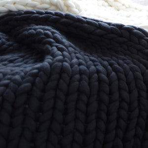 Crochet Blanket, Throw, Nordic Home Accessories, Elm & Blue, Style Life Home