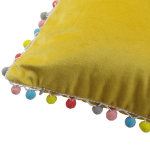 Pom Pom Cushion Covers, Cushion, Nordic Home Accessories, Elm & Blue, Style Life Home